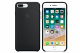 Apple iPhone 8 Plus / 7 Plus Silicone Case - Black