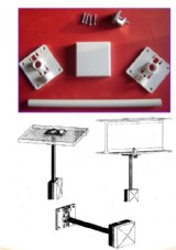Yealink afstandsbeugel (Mounting bracket kit IP-DECT Basisstation en repeaters)